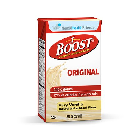 Oral Supplement Boost® Very Vanilla 8 oz. Carton Ready to Use