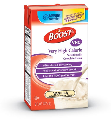 Oral Supplement Boost® VHC Very Vanilla 8 oz. Carton Ready to Use
