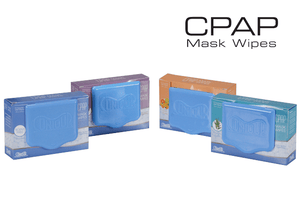 CPAP Wipes - 4 SCENTS