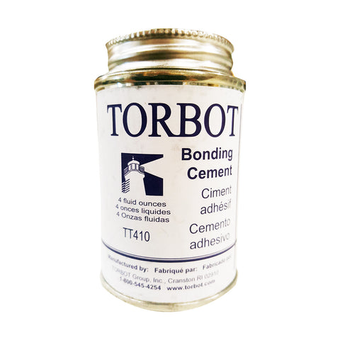 Torbot Liquid Bonding Cement 4 Oz. Brush Top Can