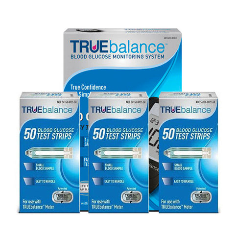 TRUEbalance Glucose Test Strips with Free Meter