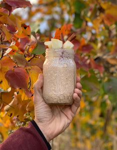Apple Cinnamon Autumn Overnight Oats