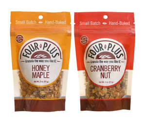 Honey Maple - Cranberry Nut 2 oz. Sampler