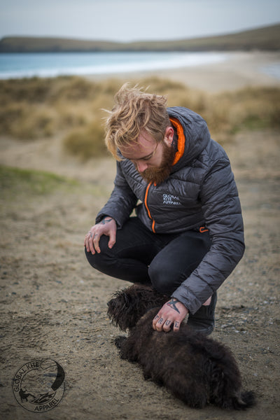 Global Kite Apparel: Jordan Clark, 60°North, the Shetland Islands