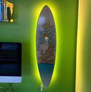 Global Kite Apparel Kitesurfing Inspired Kiteboard Wall Art & Furniture & Backlighting ...In Synergy...