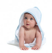 Super Young Kitesurfer Hooded Towel
