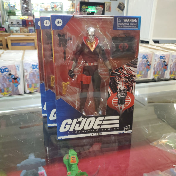 G. I. Joe Classified Series DESTRO Action Figure