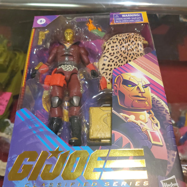 G. I. Joe Classified Series PROFIT DIRECTOR DESTRO Action Figure