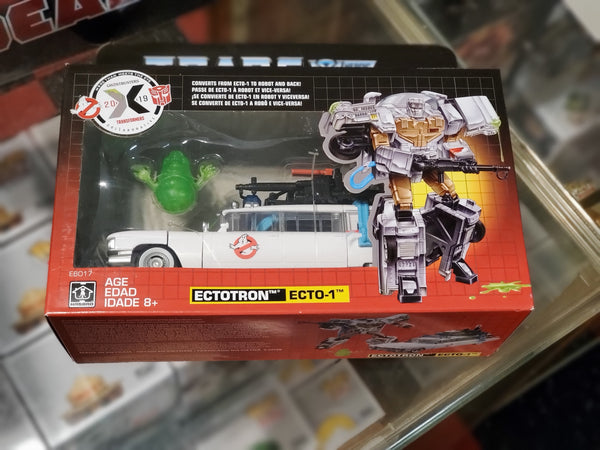The Transformers and The Ghostbusters 2019 More Than Meets the Eye Collaboration Ectotron Ecto-1