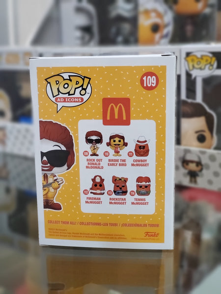 Funko Pop! Ad Icons McDonald's Rock Out Ronald