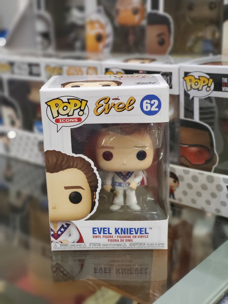 Funko Pop! Icons (62) Evel Knievel Collectible Vinyl Figure