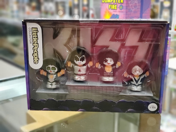 Collector Series KISS Little People by Fisher Price
