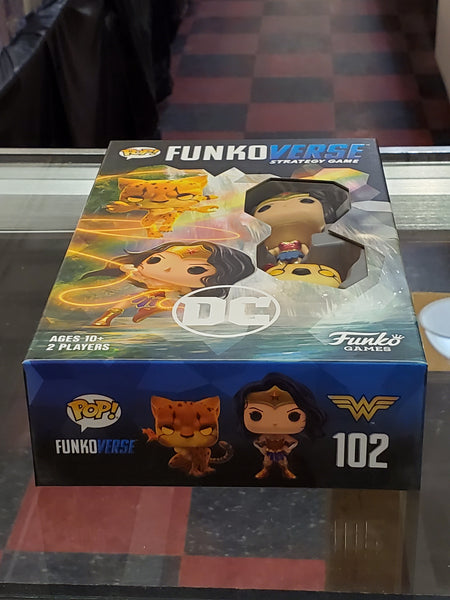Funko Games: Pop! Funkoverse DC Heros Expandalone 102 with Wonder Woman and The Cheetah