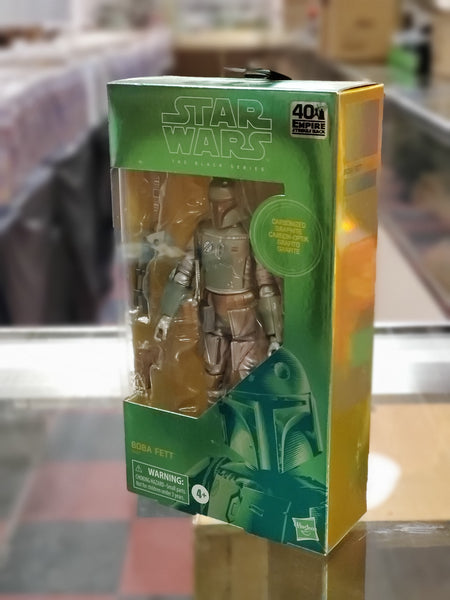 Star Wars The Black Series Boba Fett Collectible Action Figure