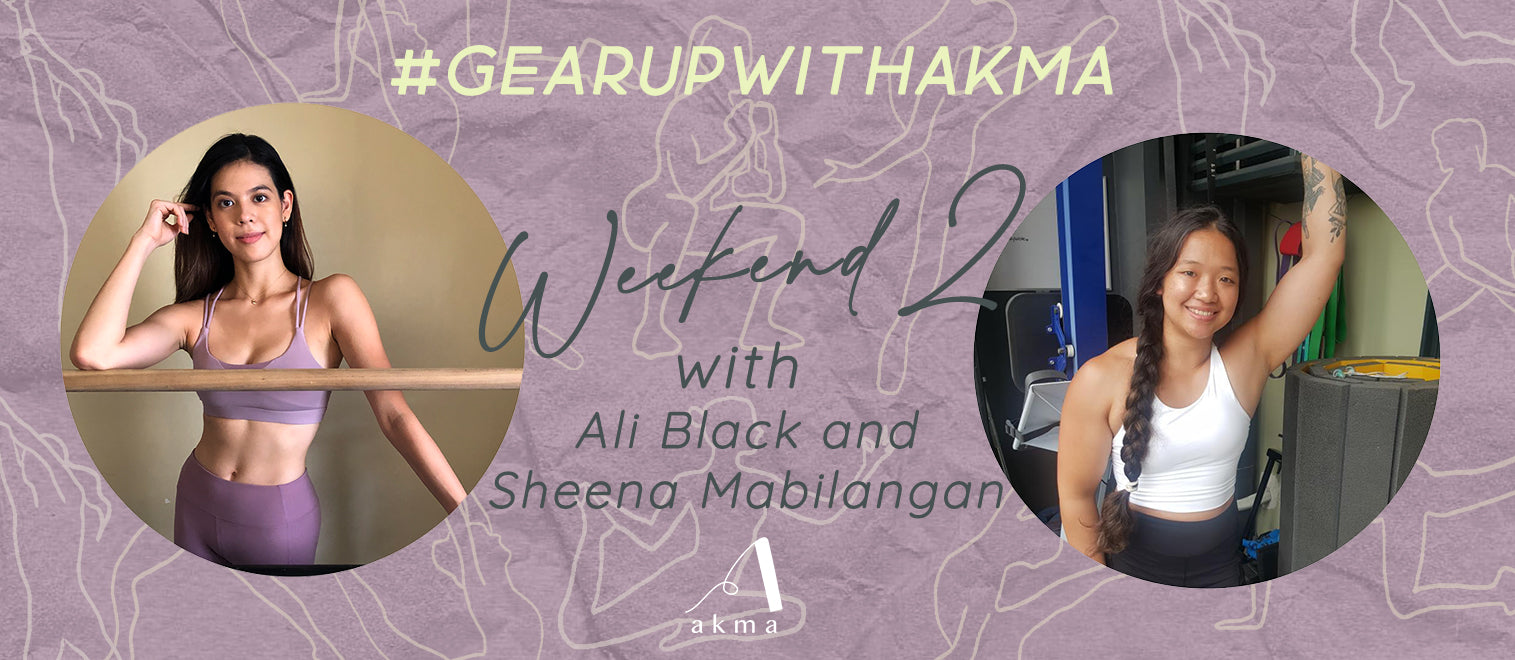 Grace Through Strength: Ali and Sheena #GearUpwithAkma