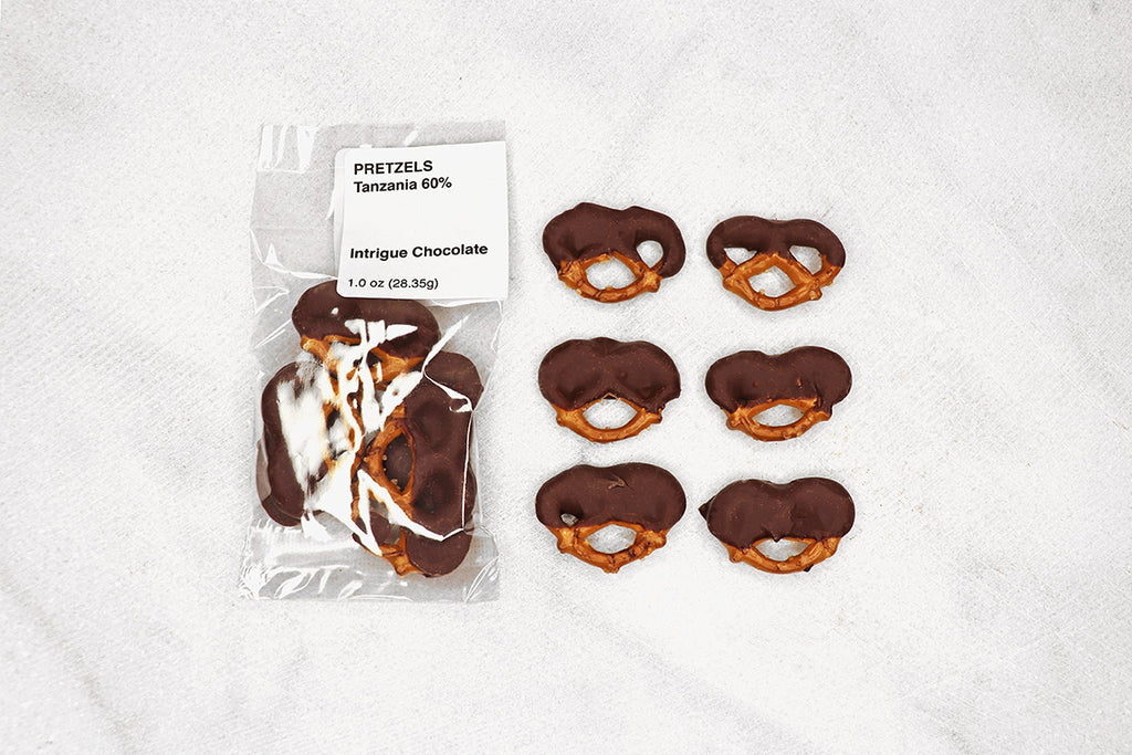 Pretzels + Origin Chocolate
