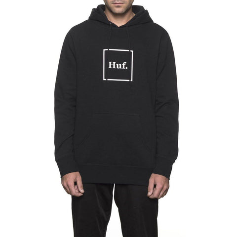 Huf Box Logo Hood Black