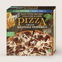Amy's, Gluten Free Vegan Pepperoni Pizza 13oz (Frozen)