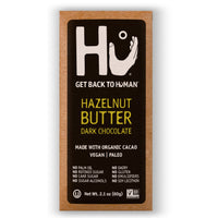 Hu Kitchen, Hazelnut Butter Dark Chocolate Bar 2.1oz