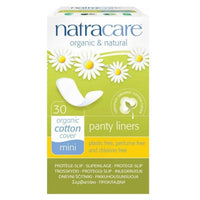 Natracare, Organic and Natural Mini Panty Liners 30Ct