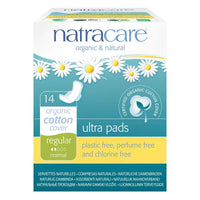 Natracare, Organic and Natural Ultra Regular Period Pads 14Ct