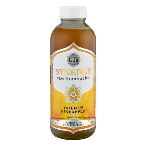 GT'S, Kombucha Golden Pineapple 16oz (Chill)