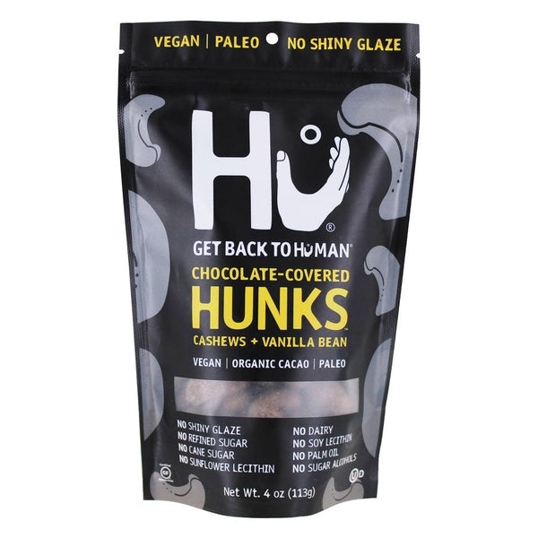 Hu, Chocolate-Covered Hunks Cashews + Vanilla Bean 4oz