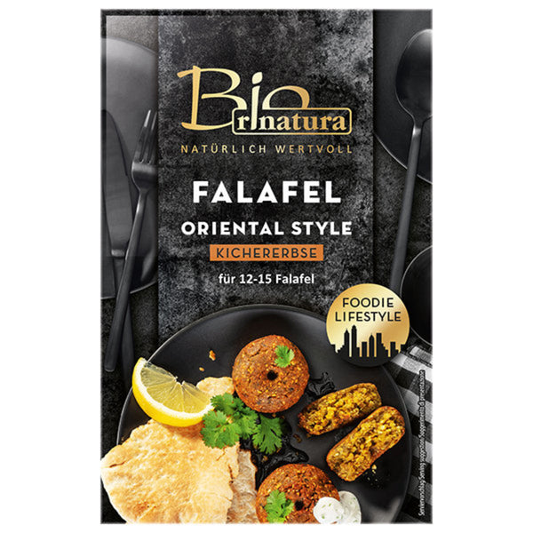Rinatura, Oriental Style Falafel Patty Mix 150g