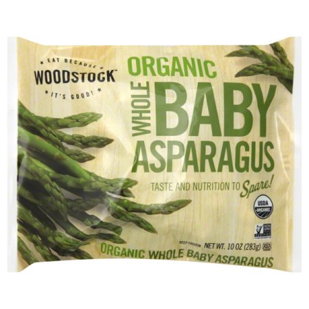 Woodstock, Organic Whole Baby Asparagus 10oz (Frozen)