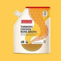 Nona lim, Turmeric Chicken Bone Broth Pouch 20oz (Frozen)