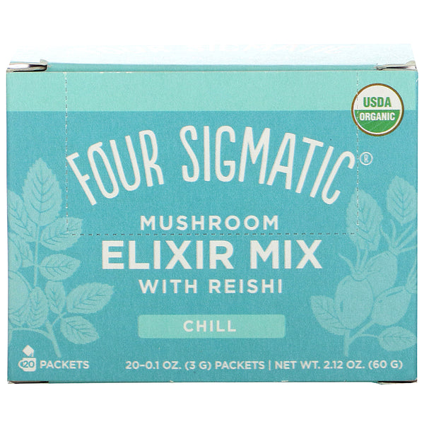 Four Sigmatic, Mushroom Elixir Mix with Reishi 20 Packets