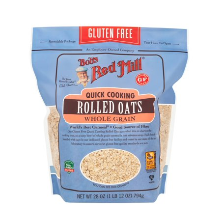 Bob's Red Mill, Gluten Free Quick Cooking Rolled Oats 28oz