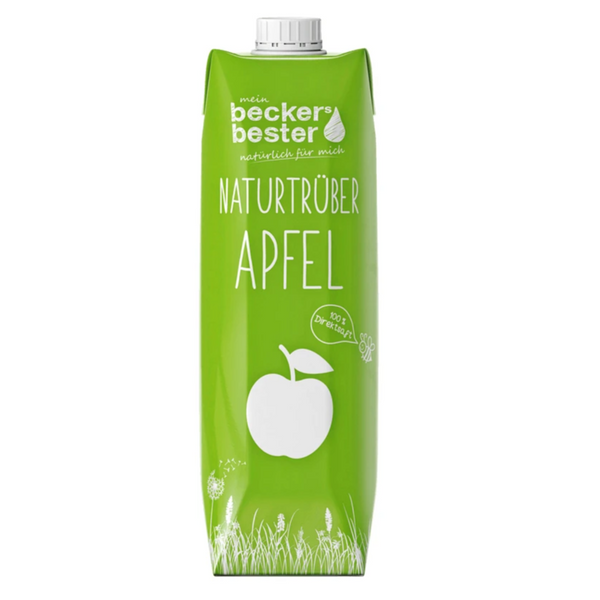 BECKERS BESTER, Apple Juice - Cloudy 1000ML