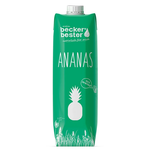 BECKERS BESTER, Pineapple Juice 1000ML