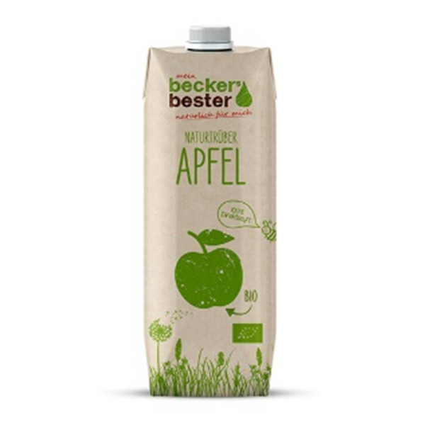 BECKERS BESTER, Organic Cloudy Apple Juice 1000ML