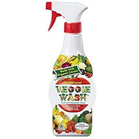 Veggie Wash, Natural Fruit & Vegetable Wash Spray 16oz