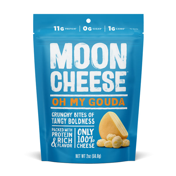 Moon Cheese, Oh My Gouda Crunchy Bites 2oz