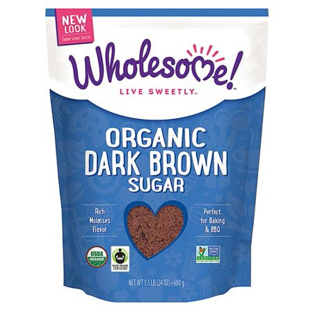 Wholesome Sweeteners, Organic Dark Brown Sugar 24oz