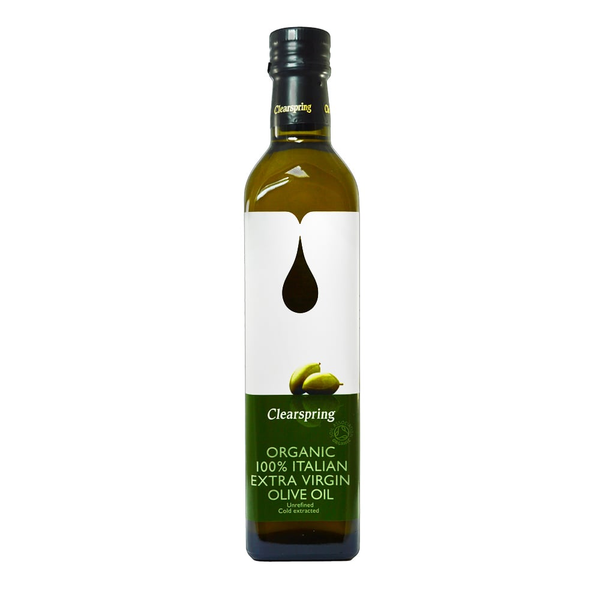 CLEARSPRING, Organic Italian Extra Virgin Olive Oil 500ML