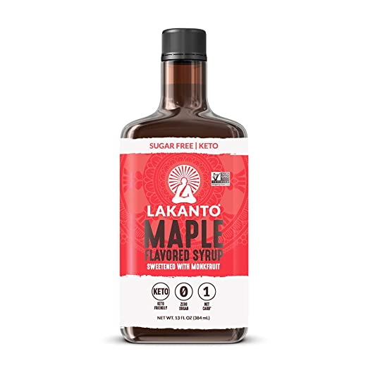 Lakanto, Monkfruit Maple Flavored Syrup 13oz