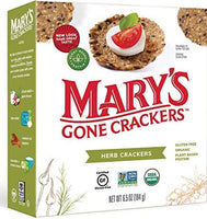 Mary's Gone Crackers, Organic Seed Crackers Herb 6.5oz