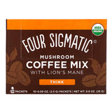 Four Sigmatic, Mushroom Coffee Mix with Lion's Mane 10 Packets