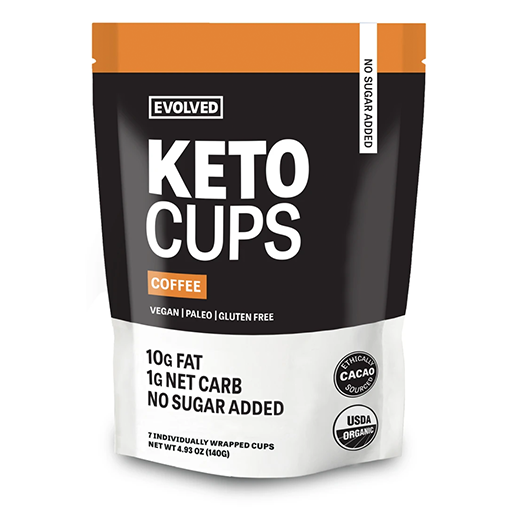 Evolved Chocolate, Coffee Keto Cups 4.93oz (Chill)