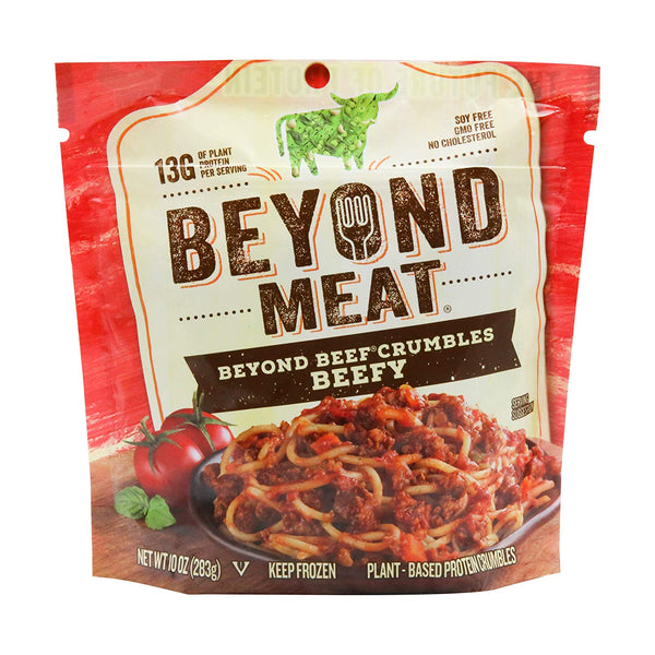 Beyond Meat, Beyond Beef Crumbles Beefy 10oz (Frozen)
