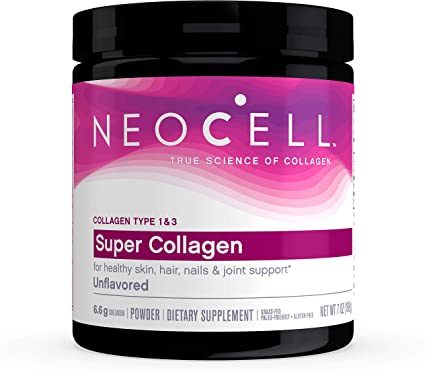 NeoCell, Super Collagen (Types 1 & 3) + C Unflavored Powder 7oz