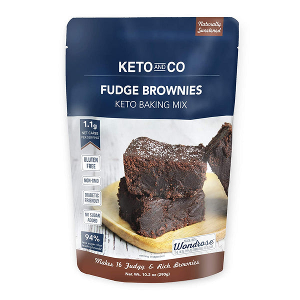Keto and Co, Keto Fudge Brownie Mix 10.2oz