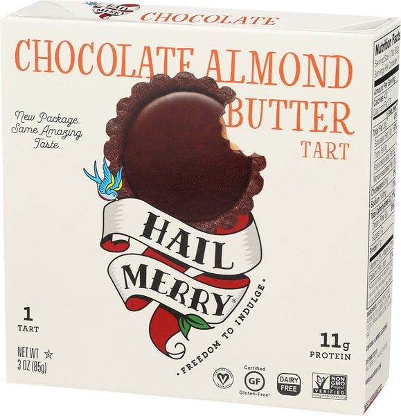 Hail Merry, Chocolate Almond Butter Miracle Tart 3oz (Chill)