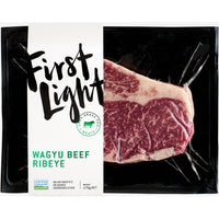 First Light, Grass-Fed Wagyu Beef Rib-Eye 170g (Frozen)