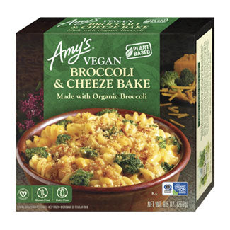 Amy's, Vegan Gluten Free Broccoli & Cheeze Bake 9.5oz (Frozen)
