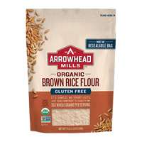 Arrowhead Mills,  Organic Brown Rice Flour Gluten Free 24oz
